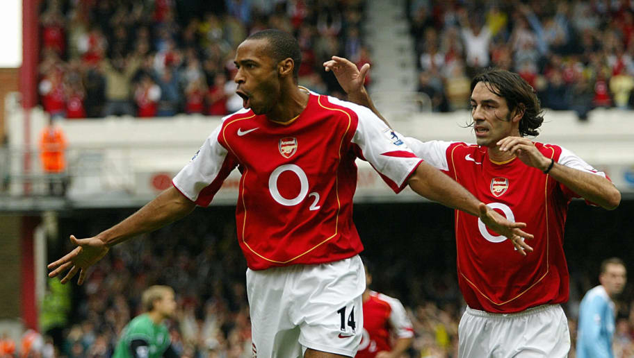 Arsenal's French forward Thierry Henry (