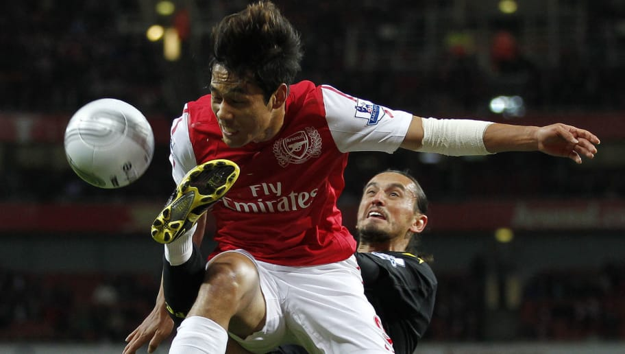 Arsenal's South Korean player Park Chu-Y