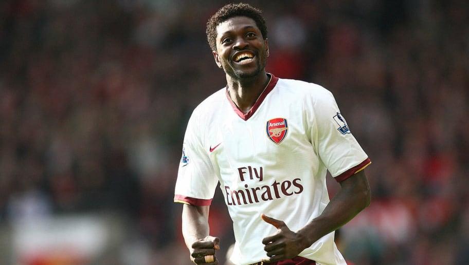 Arsenal's Togo forward Emmanuel Adebayor