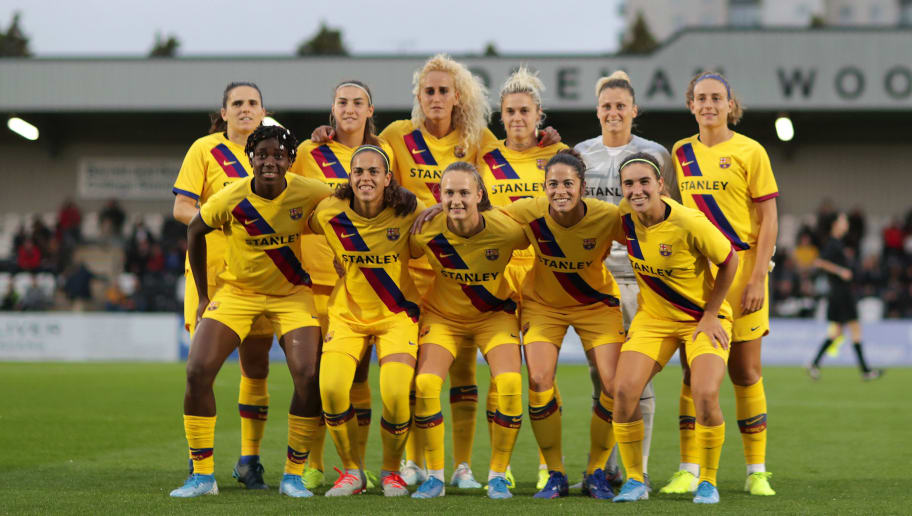 Spain Prepares For First Ever Women S Clasico As Barcelona Host