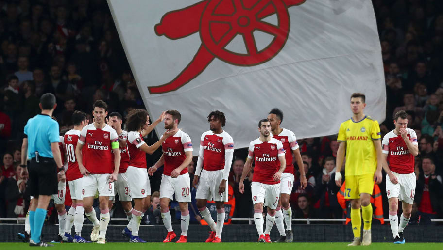 Arsenal 3-0 BATE Borisov (3-1 agg): Gunners Recover From First Leg Disaster to Secure Last 16 Place