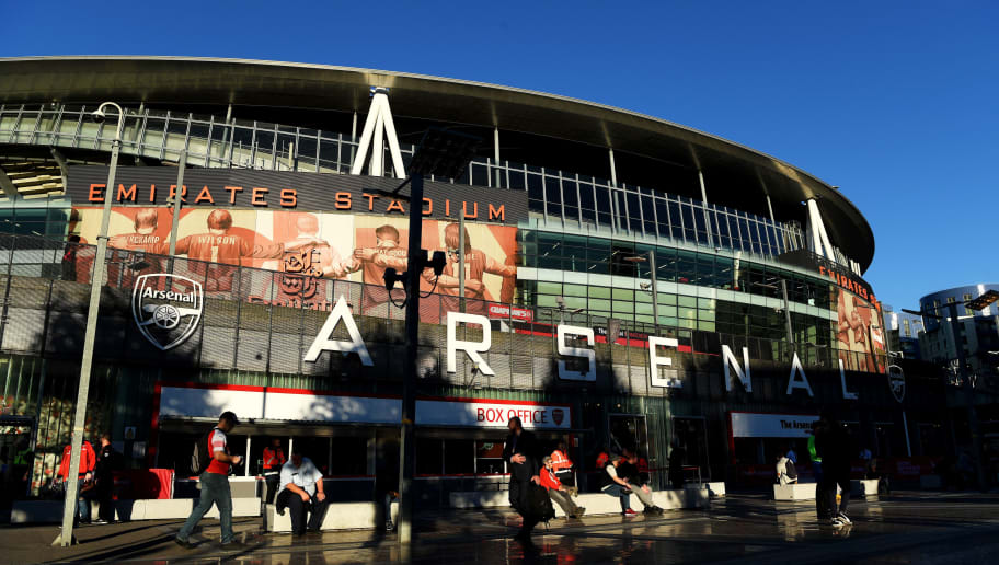 LONDON, ENGLAND - SEPTEMBER 26:  General view outside the stadium ahead of the Carabao Cup Third Round match between Arsenal and Brentford at Emirates Stadium on September 26, 2018 in London, England.  (Photo by Shaun Botterill/Getty Images)