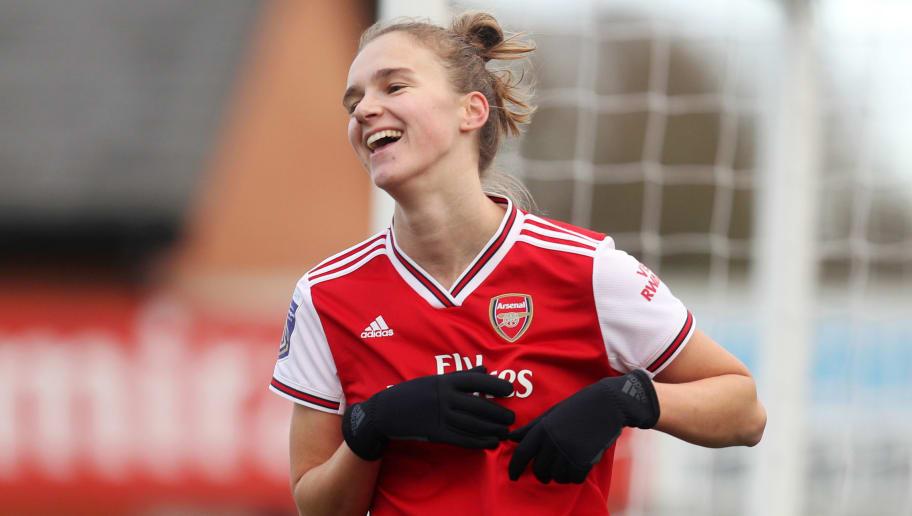 Arsenal Striker Vivianne Miedema Closing in on WSL Scoring Record After Prolific Streak