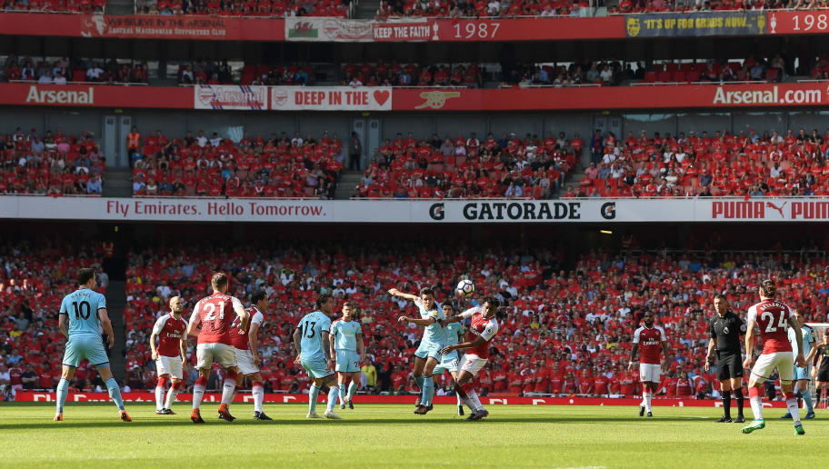 LONDON, ENGLAND - MAY 06:  General view during the Premier League match between Arsenal and Burnley at Emirates Stadium on May 6, 2018 in London, England.  (Photo by Mike Hewitt/Getty Images)