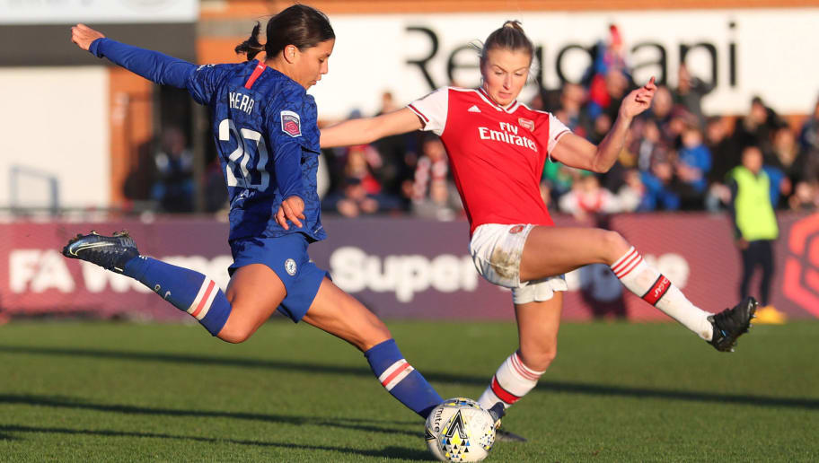 Leah Williamson,Sam Kerr