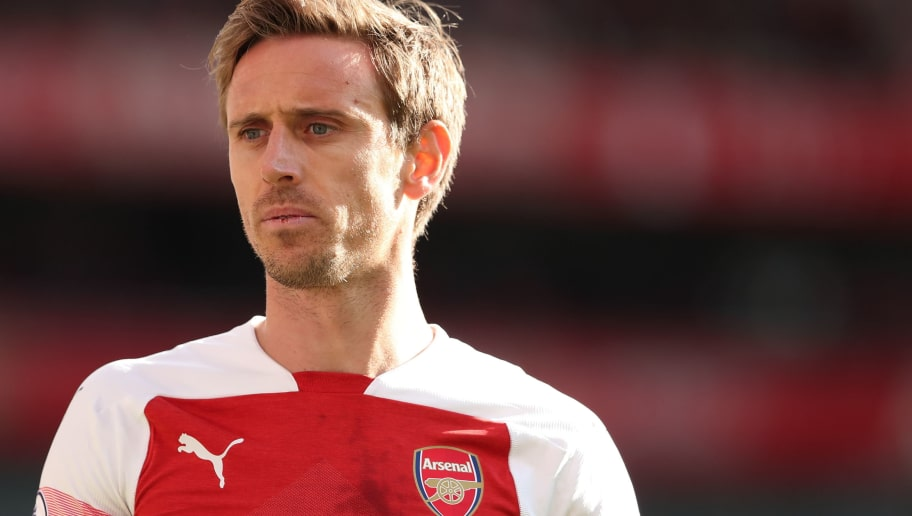 LONDON, ENGLAND - SEPTEMBER 23: Nacho Monreal of Arsenal during the Premier League match between Arsenal FC and Everton FC at Emirates Stadium on September 23, 2018 in London, United Kingdom. (Photo by James Williamson - AMA/Getty Images)