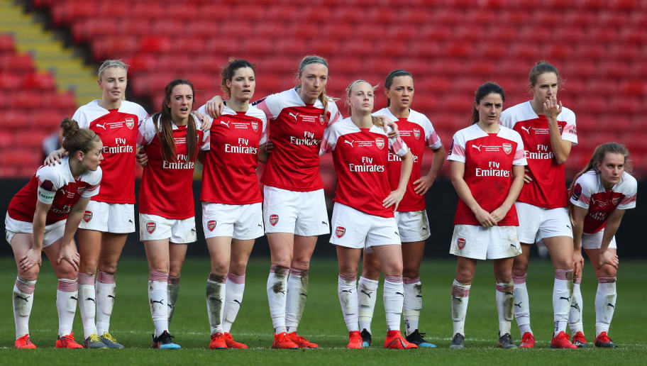 Arsenal v Manchester City Women - FA Women's Continental League Cup Final