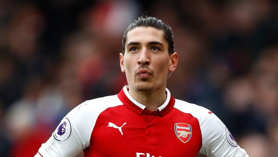 LONDON, ENGLAND - APRIL 08:  Hector Bellerin of Arsenal during the Premier League match between Arsenal and Southampton at Emirates Stadium on April 8, 2018 in London, England.  (Photo by Julian Finney/Getty Images)