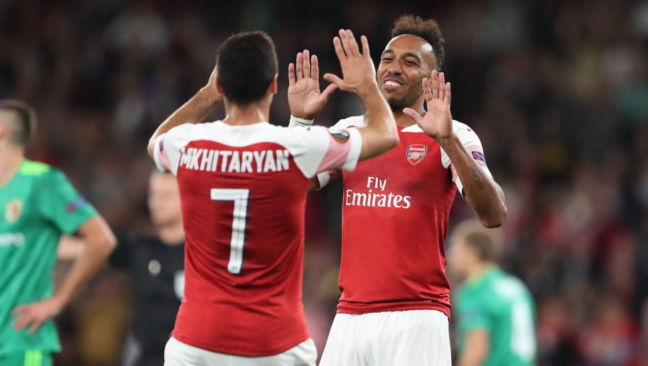 0d1b2266a81 Pierre-Emerick Aubameyang Hints Arsenal Plan to Prioritise Europa League  Over Premier League