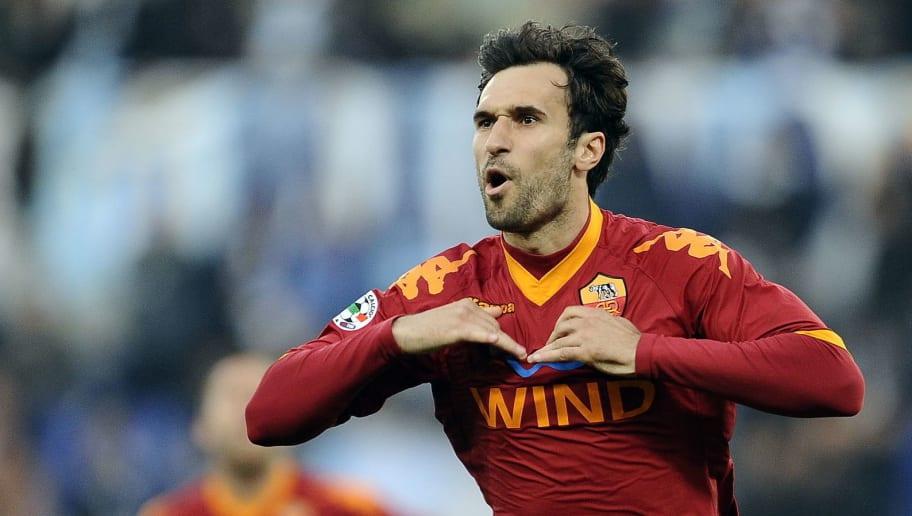 AS Roma's montenegro forward Mirko Vucin