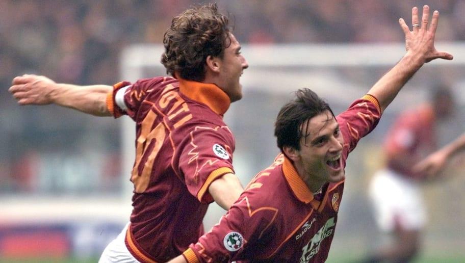 Francesco Totti,Vincenzo Montella