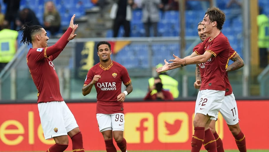 Roma 2 1 Napoli Report Ratings Reaction As I Giallorossi Hold On To Earn Valuable 3 Points 90min