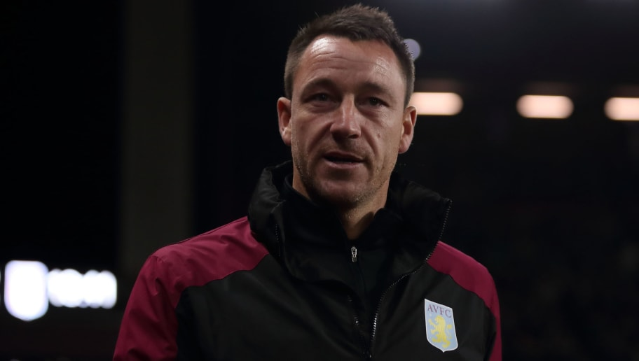 BIRMINGHAM, ENGLAND - NOVEMBER 02: Aston Villa assistant coach John Terry during the Sky Bet Championship between Aston Villa and Bolton Wanderers at Villa Park on November 2, 2018 in Birmingham, England. (Photo by James Williamson - AMA/Getty Images)