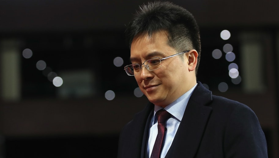 BIRMINGHAM, ENGLAND - NOVEMBER 21:  Tony Xia, Owner of Aston Villa looks on ahead of the Sky Bet Championship match between Aston Villa and Sunderland at Villa Park on November 21, 2017 in Birmingham, England.  (Photo by Matthew Lewis/Getty Images)