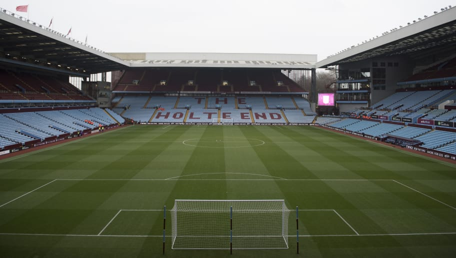 BIRMINGHAM, ENGLAND- DECEMBER 10: General view of Villa Park before the Sky Bet Championship match between Aston Villa and Wigan Athletic on December 10, 2016 in Birmingham, England (Photo by Nathan Stirk/Getty Images).