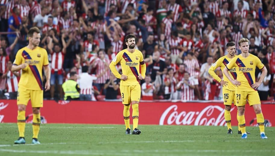 Athletic 1-0 Barcelona: Suarez Injury Update, Griezmann's Debut & Valverde's Reaction to Shock Loss