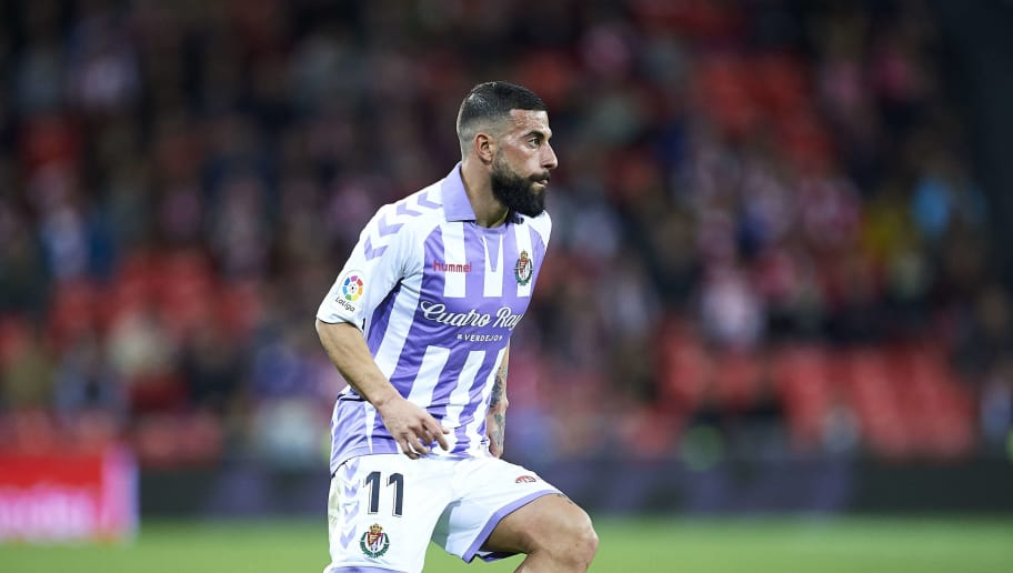 BILBAO, SPAIN - DECEMBER 22: Daniele Verde of Real Valladolid CF in action during the La Liga match between Athletic Club and Real Valladolid CF at San Mames Stadium on December 22, 2018 in Bilbao, Spain. (Photo by Juan Manuel Serrano Arce/Getty Images)