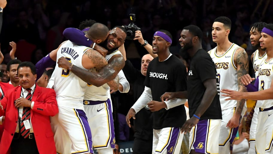 Nba Power Rankings See Lakers Move Up And Raptors Take Over