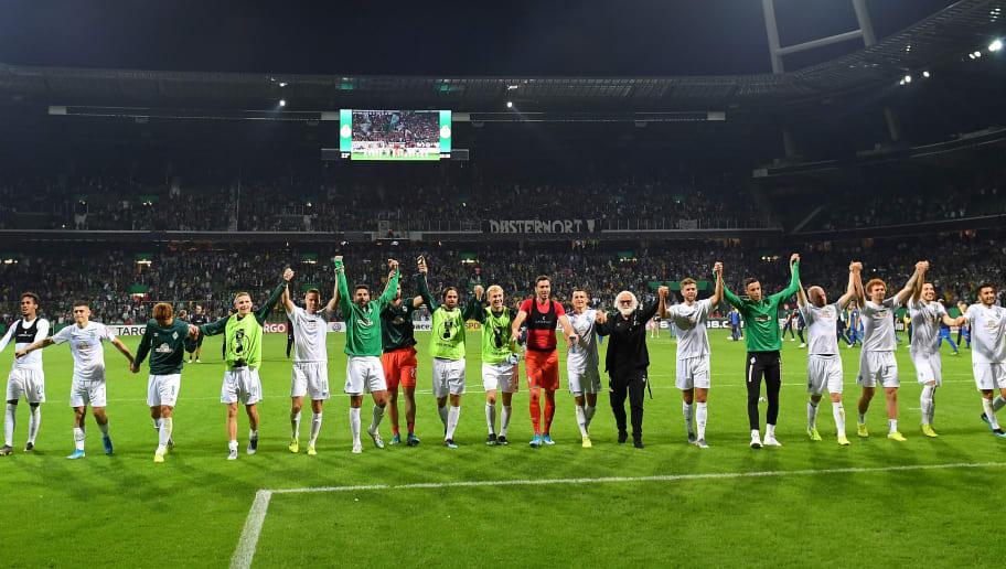 Atlas Delmenhorst v SV Werder Bremen - DFB Cup