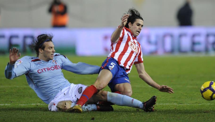 Atletico Madrid's Portuguese midfielder