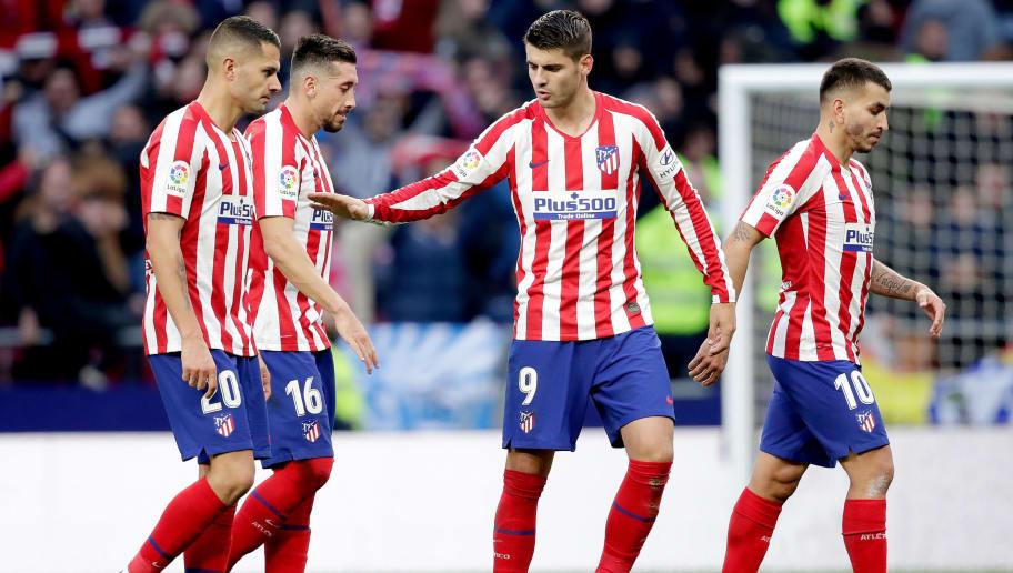 Alvaro Morata,Angel Correa,Hector Herrera,Vitolo