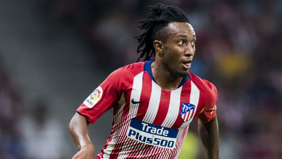 MADRID, SPAIN - AUGUST 11: Gelson Martins of Atletico de Madrid in action during their International Champions Cup Europe 2018 match between Atletico de Madrid and FC Internazionale at Estadio Wanda Metropolitano on August 11, 2018 in Madrid, Spain. (Photo by Diego Souto/Power Sport Images/Getty Images)