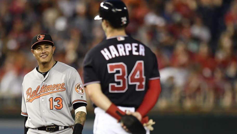Bryce Harper,Manny Machado