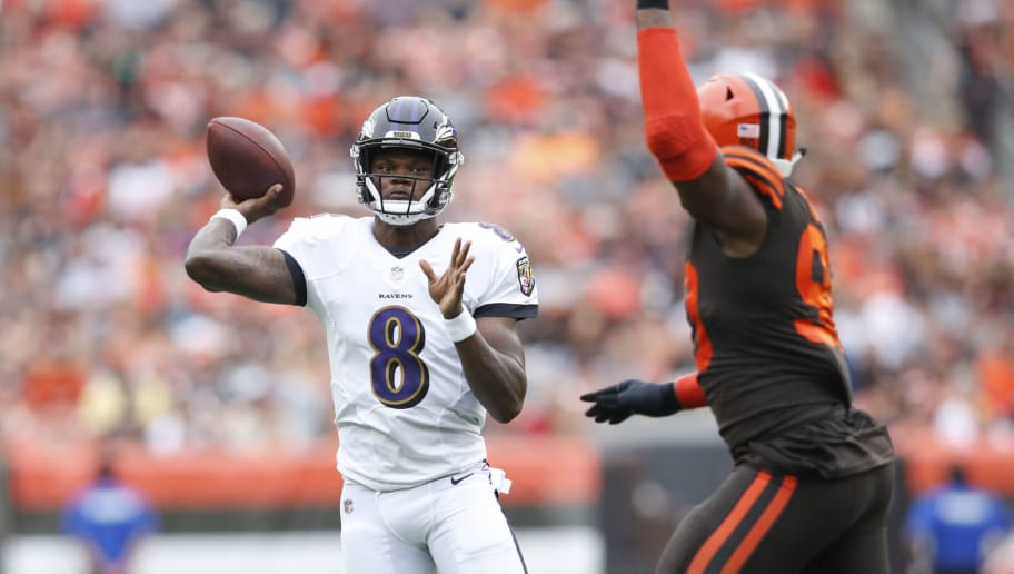 buy online 34122 b20cc Lamar Jackson Fantasy Value Trending Up as Ravens Likely ...
