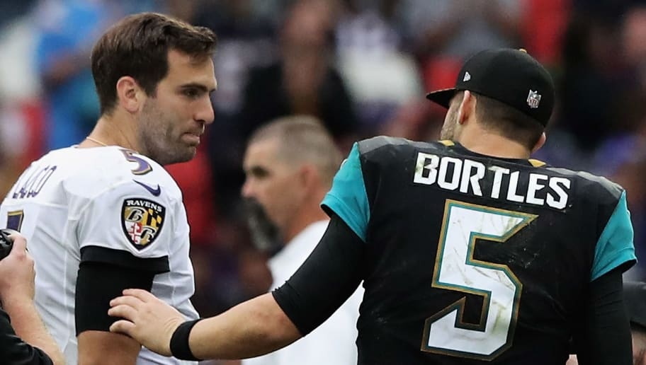 Blake Bortles,Joe Flacco