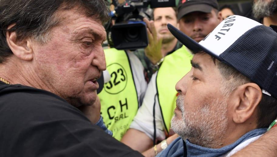Julio Falcioni,Diego Armando Maradona