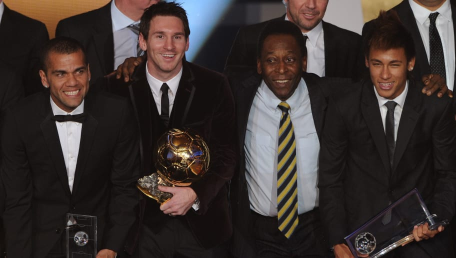Lionel Messi Just 39 Goals Behind Breaking Pele's Record of Scoring Most Goals for a Single Club