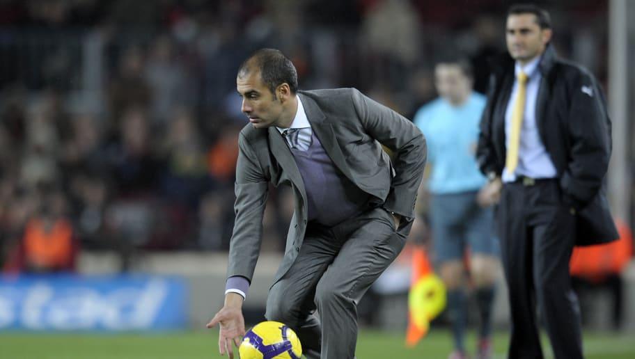 Pep Guardiola Responds to Criticism of Barcelona Manager Ernesto Valverde
