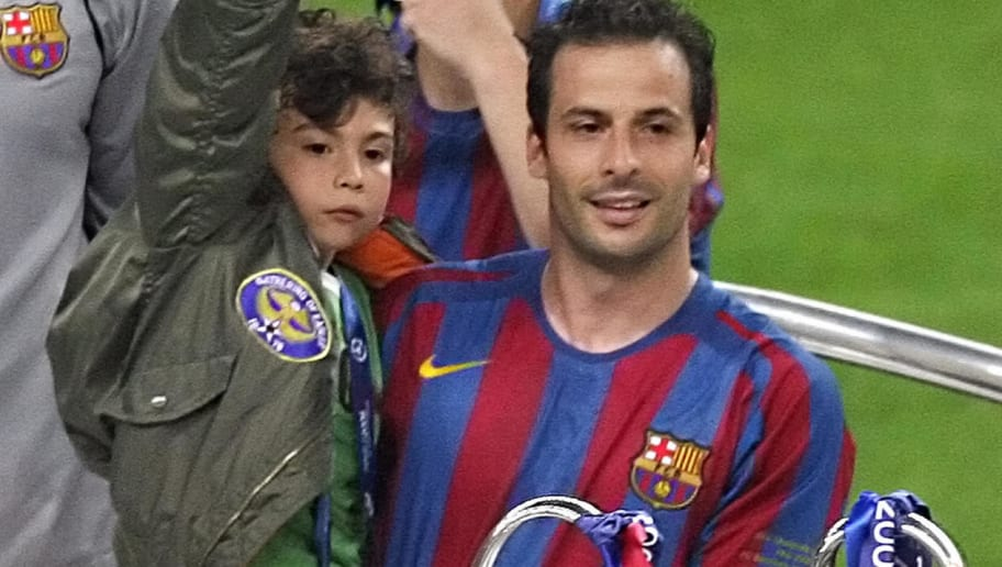 Barcelona's French forward Ludovic Giuly