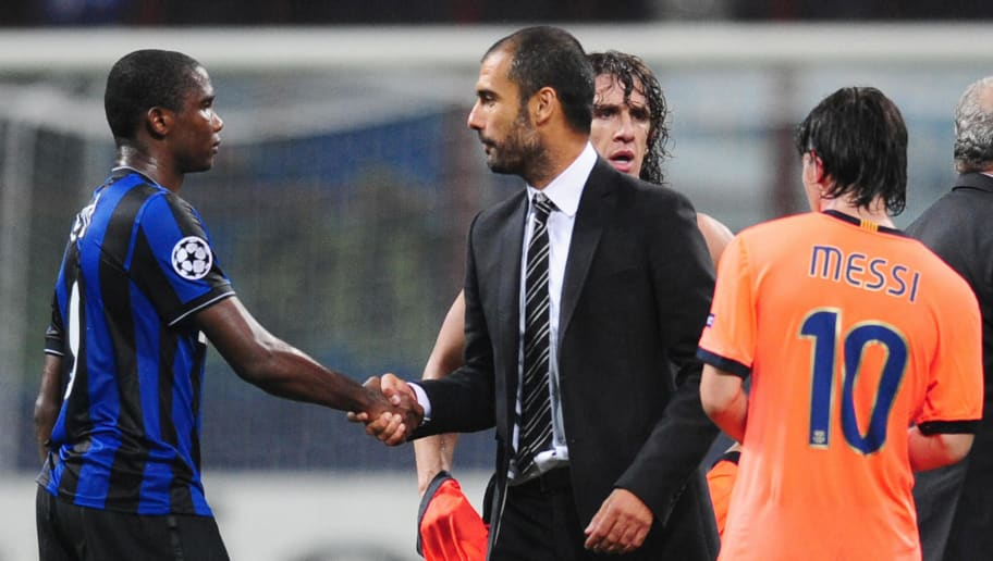 Barcelona Legend Samuel Eto'o Claims That he Loves Pep Guardiola the Manager and Not the Person