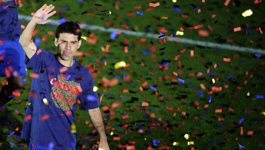 Barcelona's Mexican defender Rafa Marque