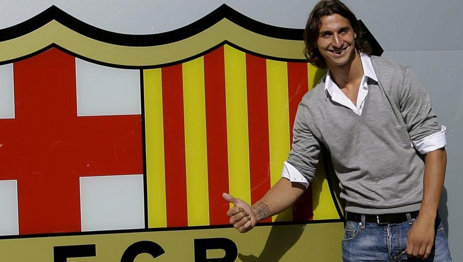 Barcelona's new signing Swedish forward