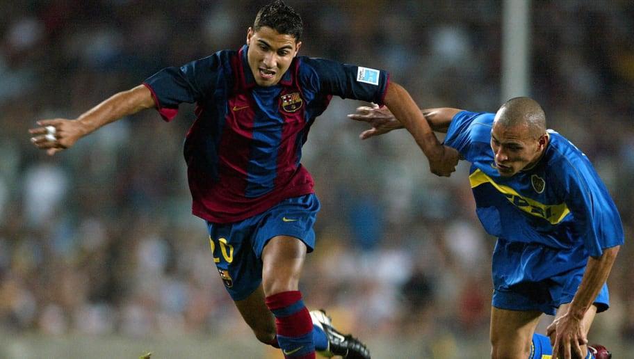 Barcelona's Ricardo Quaresma of Portugal