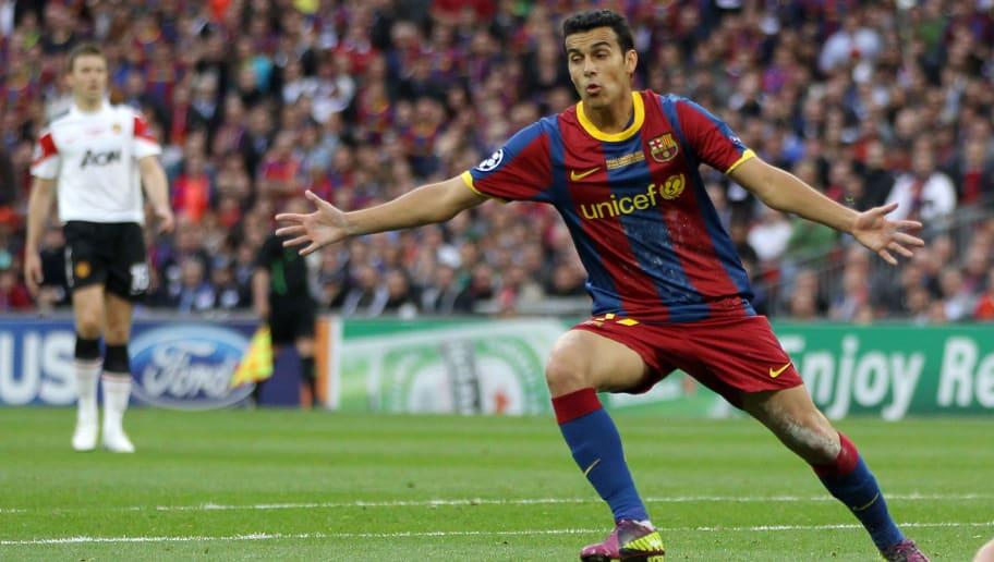 Barcelona's Spanish forward Pedro Rodrig