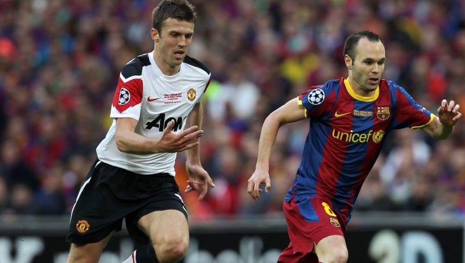Barcelona's Spanish midfielder Andres In