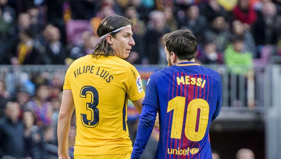 Filipe Luis,Lionel Andres Messi
