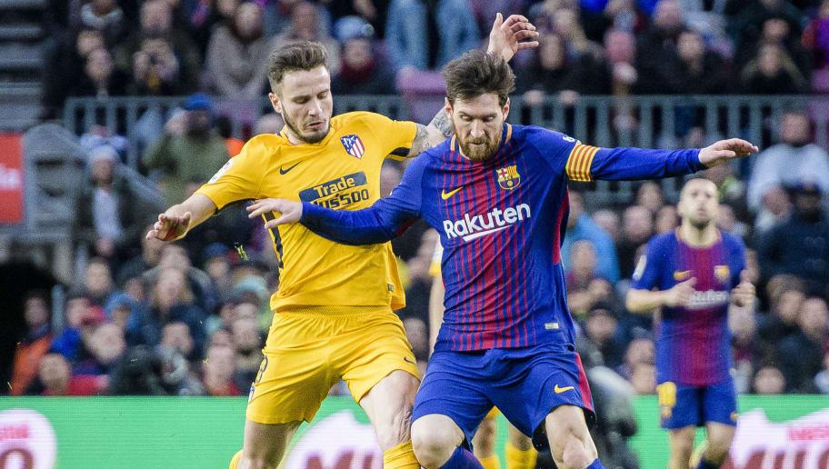 Lionel Andres Messi,Saul Niguez Esclapez