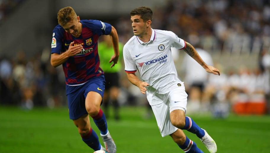Christian Pulisic,Oriol Busquets