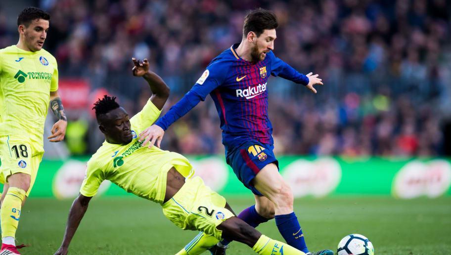 Djene Dakonam,Lionel Messi