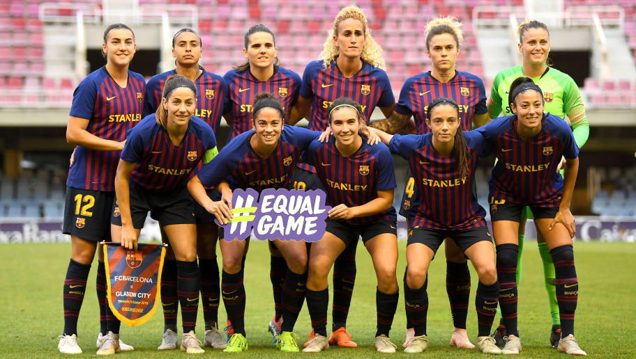 Barcelona v Glasgow City - UEFA Women's Champions League Round of 16 1st Leg
