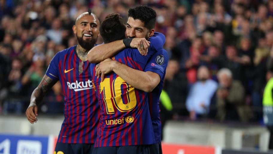 Lionel Messi,Arturo Vidal,Luis Suarez