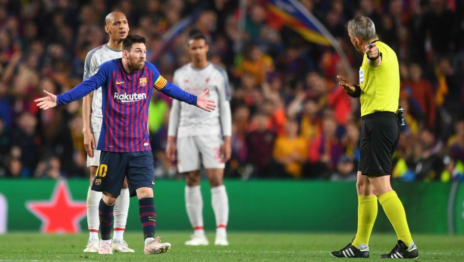Lionel Messi,Fabinho,Bjorn Kuipers