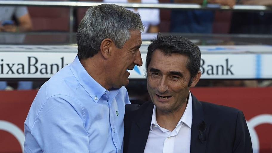 Ernesto Valverde,Quique Setien
