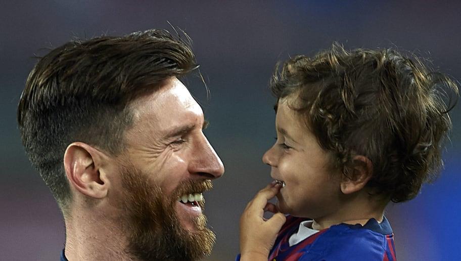 Mateo Messi,Lionel Messi