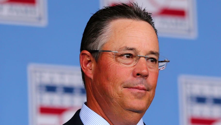 COOPERSTOWN, NY - JULY 26:  Greg Maddux attends the Hall of Fame Induction Ceremony at National Baseball Hall of Fame on July 26, 2015 in Cooperstown, New York. Craig Biggio,Pedro Martinez,Randy Johnson and John Smoltz were inducted in this year's class.  (Photo by Elsa/Getty Images)