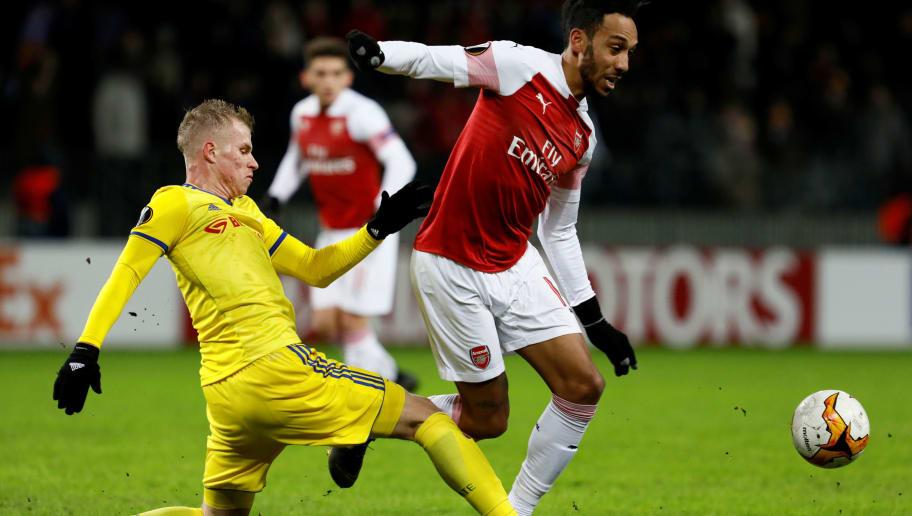 BATE Borisov v Arsenal - UEFA Europa League Round of 32: First Leg